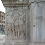 Arch of Constantine: the Pedestals