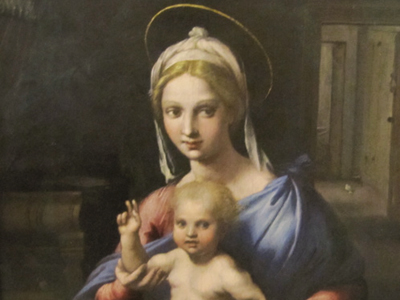 Giulio Romano - Madonna and Child