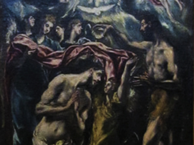 El Greco - Baptism of Christ