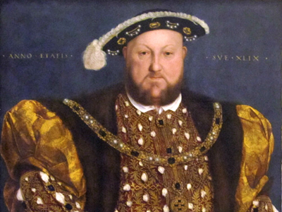 Hans Holbein the Younger - Portrait of Henry VIII