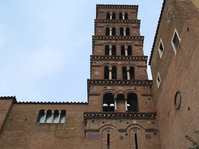 Church of Saints Giovanni and Paolo - bell tower