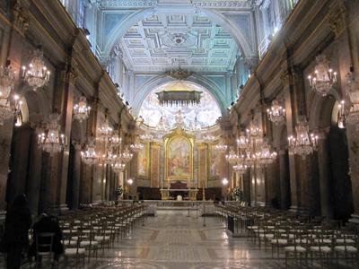 Church of Saints Giovanni and Paolo - interior