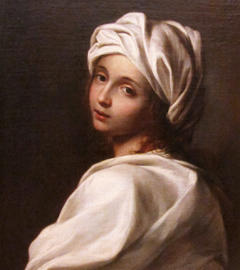Beatrice Cenci portrayed by Guido Reni