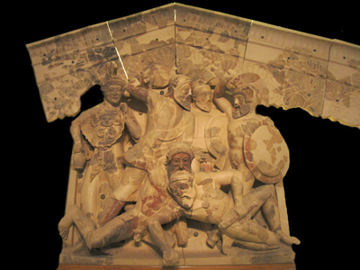 Etruscan National Museum - Seven against Thebes