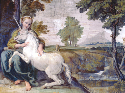 Woman with the Unicorn