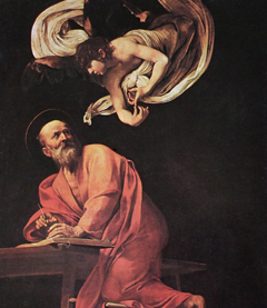 San Luigi dei Francesi - St. Matthew and the Angel