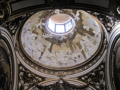 San Luigi dei Francesi - the dome