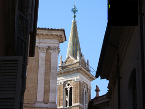 Santa Maria dell'Anima - The bell tower