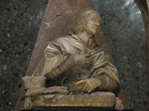 Santa Maria dell'Anima - Portrait of Cardinal Sluse